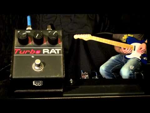 Proco RAT Turbo Distortion Pedal