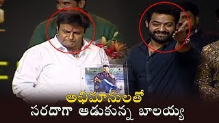 Aravinda Sametha: Balakrishna and Jr NTR Fan Moment..