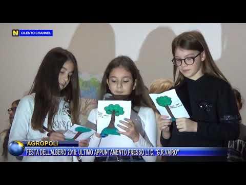 AGROPOLI FESTA DELL'ALBERO 2018, ULTIMO APPUNTAMENTO PRESSO L'I C G R VAIRO