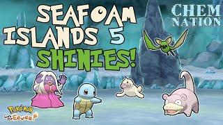 LIVE SHINY HUNTING - CRAZY SEAFOAM ISLAND LUCK!! - Pokemon Let's Go Eevee.