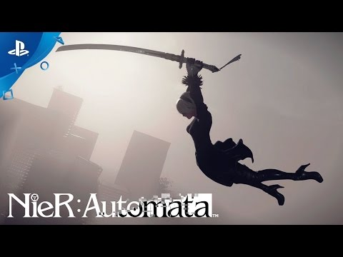"""NieR: Automata – """"Death is Your Beginning"""" Launch Trailer   PS4"""