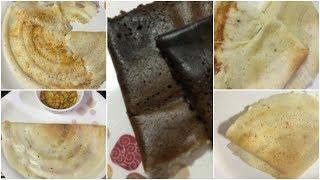 5 Variety dosas    cheese dosa ,chocolate dosa,upma dosa onion dosa ,kandi podai dosa