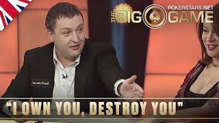 The Big Game S2 ♠️ E26 ♠️ Phil Hellmuth vs Tony G INTENSE needling ♠️ PokerStars UK