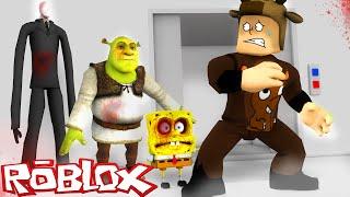SCARIEST JUMPSCARE IN ROBLOX! (Roblox Horror Elevator)