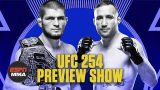 UFC 254 Preview Show | Ariel & The Bad Guy Live | ESPN MMA