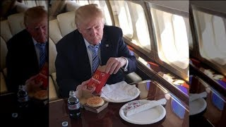 This Is Why Trump Really Eats So Much Fast Food