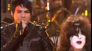 Adam Lambert & Kiss - American Idol - Final - Finale