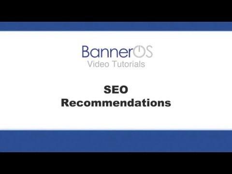 BannerOS: SEO Recommendations Tool