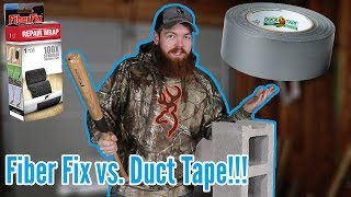 Is Fiber Fix REALLY 100X Stronger Than Duck Tape?