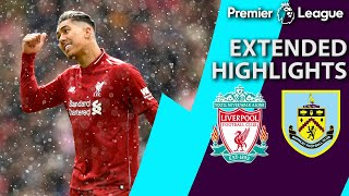Liverpool v. Burnley   PREMIER LEAGUE EXTENDED HIGHLIGHTS   3/10/19   NBC Sports
