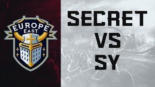 ECL Europe East 4v4 - SY vs Secret [Grand-Final]