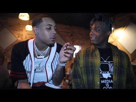 In the Studio with G Herbo Key Glock Z Money and Juice WRLD
