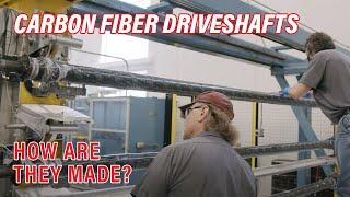 The Construction of QA1 Carbon Fiber Driveshafts