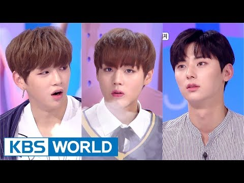 Hello Counselor - Wanna One's Kang Daniel, Park Jihoon, Hwang Minhyun [ENG/THAI/2017.09.11]