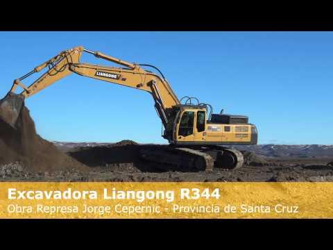 Excavadora Liangong R344