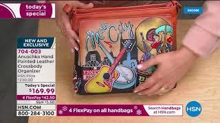 HSN | Anuschka Handbag Gifts 11.13.2020 - 04 AM