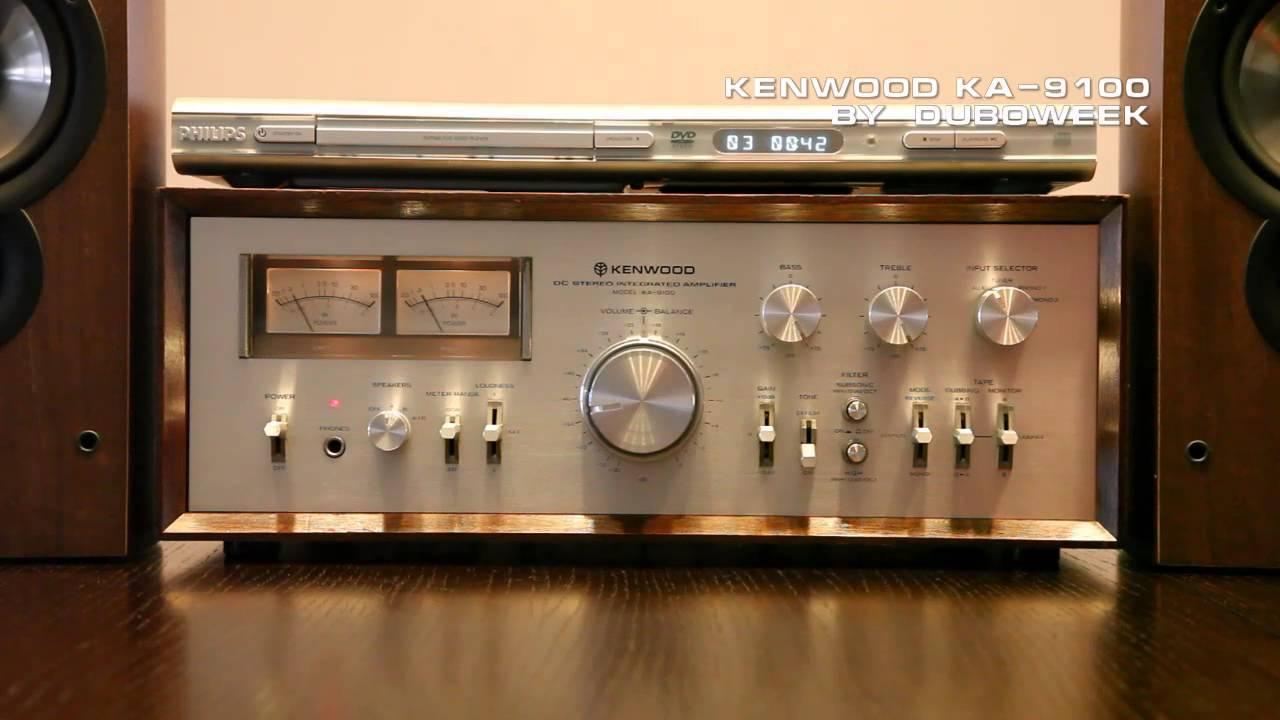 Kenwood Ka 9100 Vintage Integrated Amplifier Hi Fi Stereo