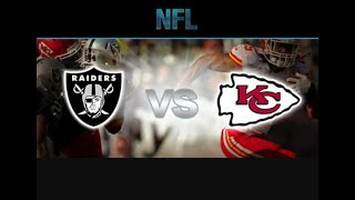 TNF Chiefs @ Raiders Preview