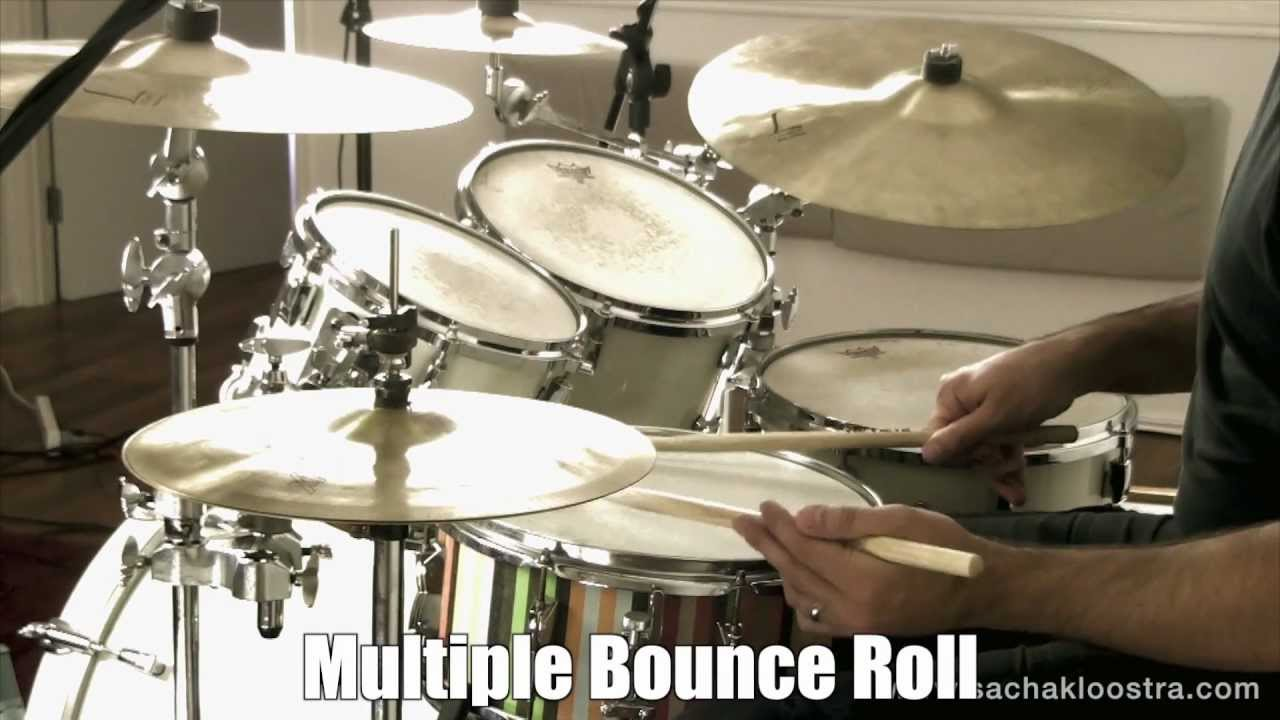 multiple bounce roll drum rudiment on snare drum kit youtube. Black Bedroom Furniture Sets. Home Design Ideas