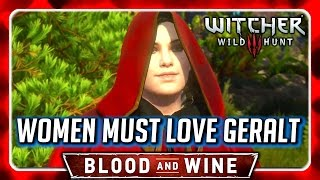 Witcher 3 🌟 BLOOD AND WINE 🌟 Syanna Reacts to All Geralt's Opinions on Her Outfit