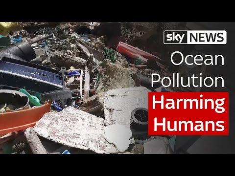 Ocean Pollution Harming Humans