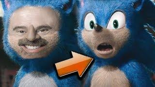 Fixing Sonic in Photoshop