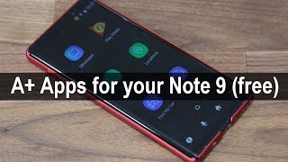 5 Must-Have Apps for Samsung Galaxy Note 9 (free & without ads)