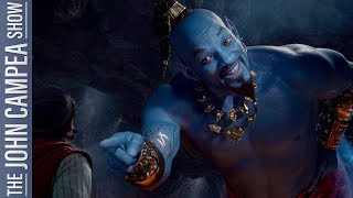 Let's Talk About That Will Smith Genie In Aladdin's Trailer - The John Campea Show - YouTube