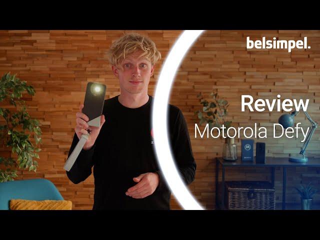 Belsimpel-productvideo voor de Motorola Defy (2021) Groen