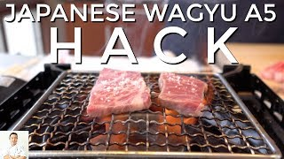 HACK: Poor Man's Japanese Wagyu A5 Beef | Kobe Beef On A Budget