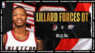 Lillard Forces OT With CLUTCH 40-PT Night | #NBATogetherLive Classic Game