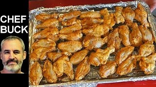 Best Wings Recipe - Baked Chicken Wings Salt and Pepper Style