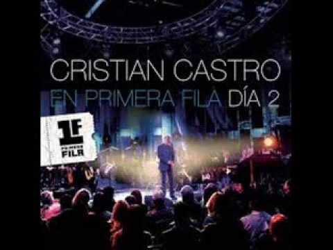 Dejame Conmigo Cristian Castro (Pista-karaoke)