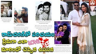 Upasana Reveals Her Love Story With Ram Charan..