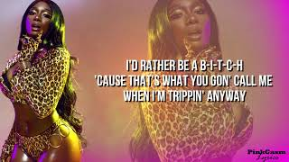 Megan Thee Stallion - B.I.T.C.H. (Lyric Video) Official Audio HD