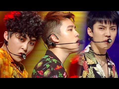 《POWERFUL》 EXO - Ko Ko Bop @인기가요 Inkigayo 20170730