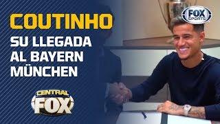 Las primeras palabras de Coutinho como jugador del Bayern München