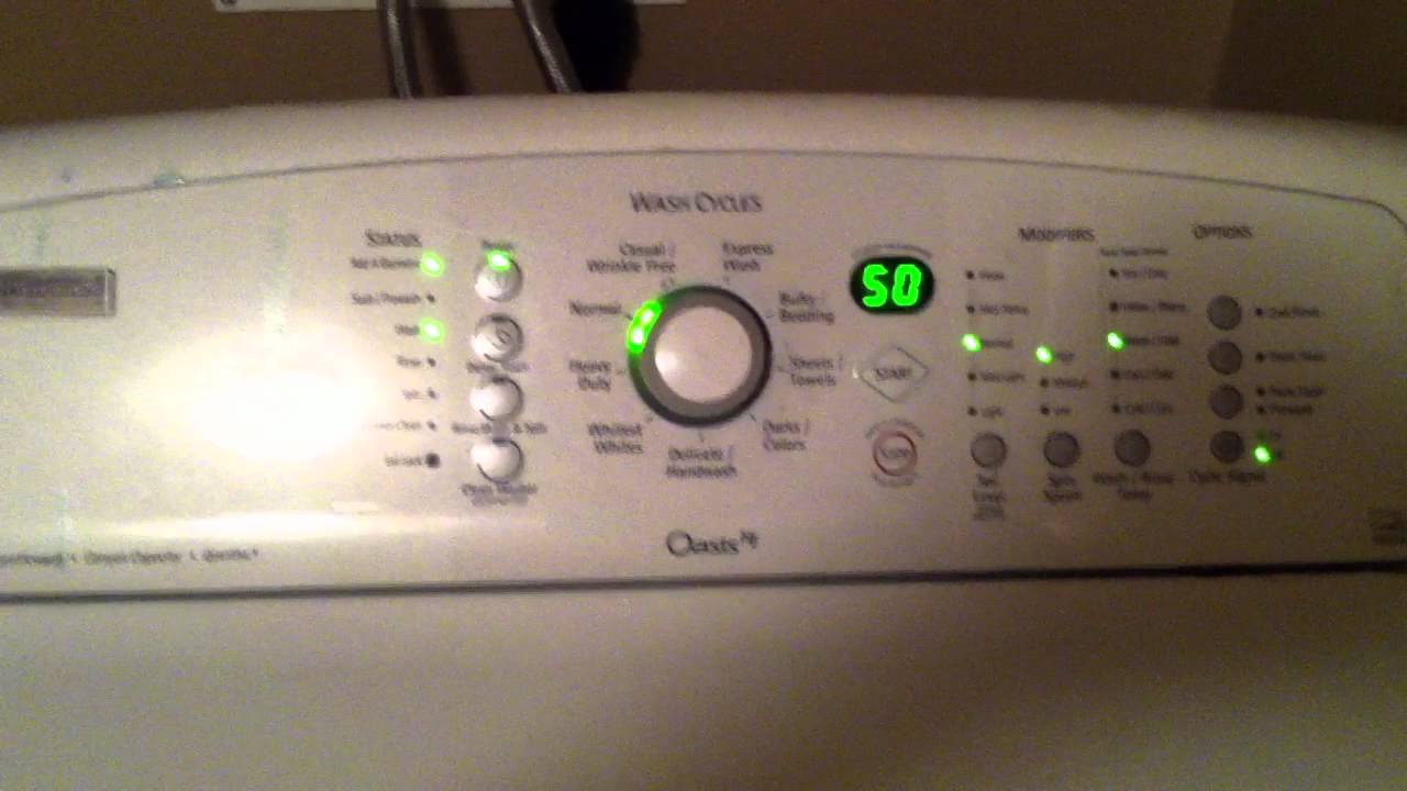 Kenmore Elite Oasis He Washer Youtube