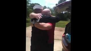 Sailor Surprises Dad with Memorial Day Homecoming