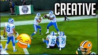 NFL Creative Touchdown Celebrations    HD