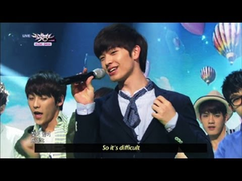 BTOB - Second Confession (2013.05.18) [Music Bank w/ Eng Lyrics]