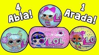 4 LOL Bebek 1 Arada Under Wraps Eski Bebeklere Karşı! Zep'in oyuncakları