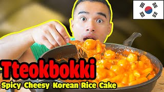 Tteokbokki | SPICY CHEESY Korean Rice Cake