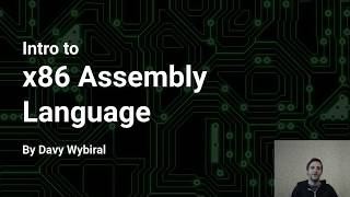 Intro to x86 Assembly Language (Part 1)