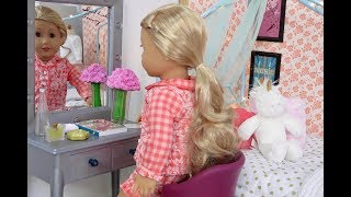 American Girl Doll School Morning Routine
