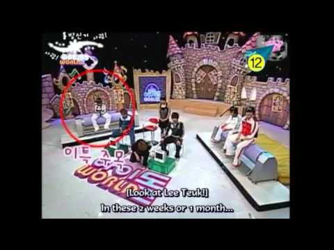 Clumsy Leeteuk and Heechul Falling On Their Butts