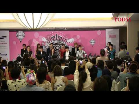 SMTOWN WORLD TOUR III Press Conference, Nov 23, 2012
