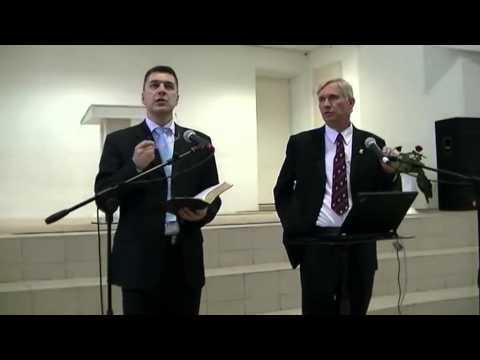 """Джон Паулин - """"Остаток в Библии"""" - семинар по Книге Откровение."""