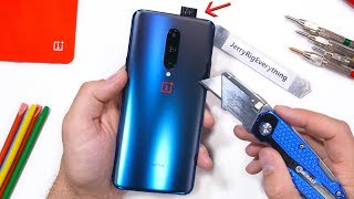 OnePlus 7 Pro - Hidden Camera Durability Test! Will it Scratch?
