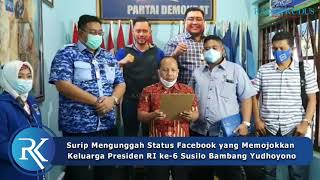 VIRAL!!! PNS di Pati Minta Maaf setelah Ejek Mantan Presiden SBY di Facebook